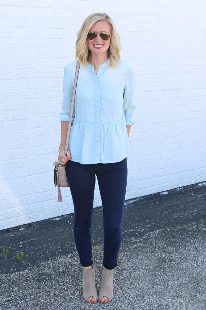 Nordstrom Anniversary Sale Chambray Shirt