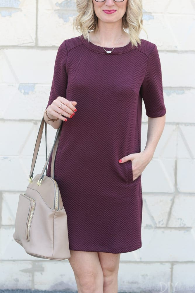 Nordstrom Anniversary Sale Maroon Dress