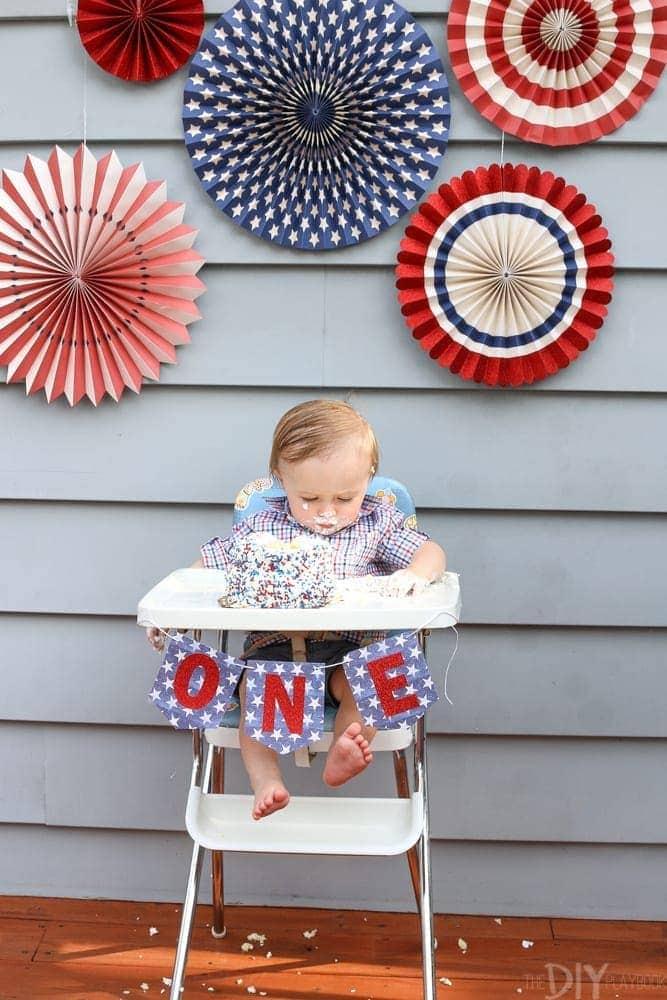 Owen_Smash_Cake