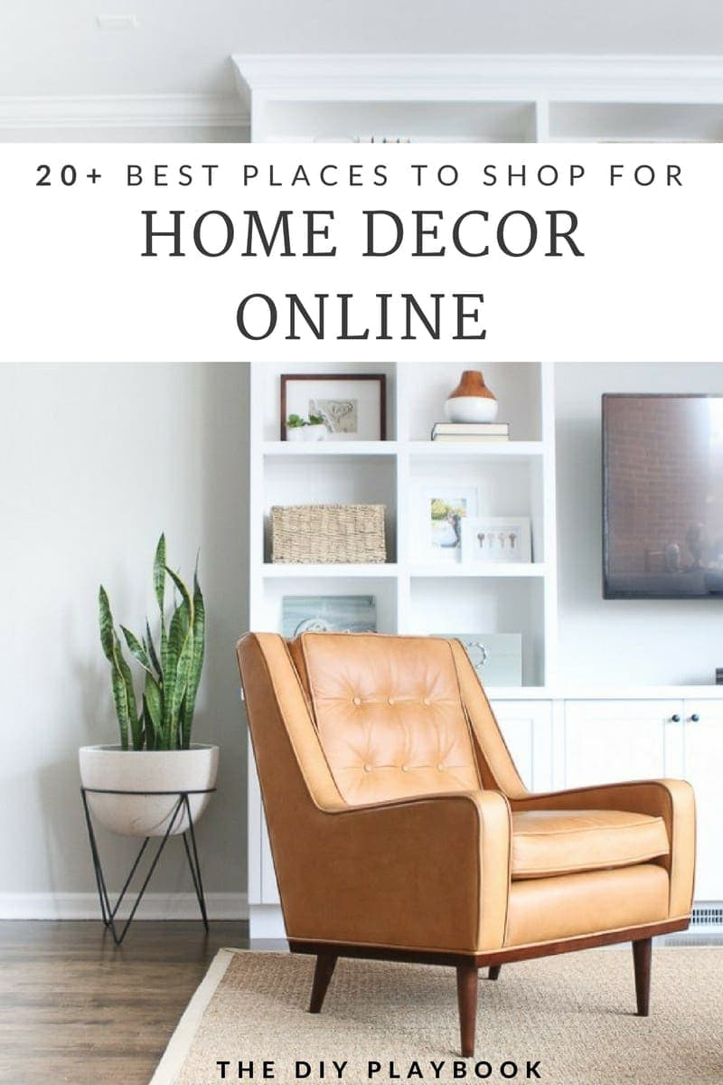 20+ Best Place to Shop for Home Decor Online by The DIY Playbook