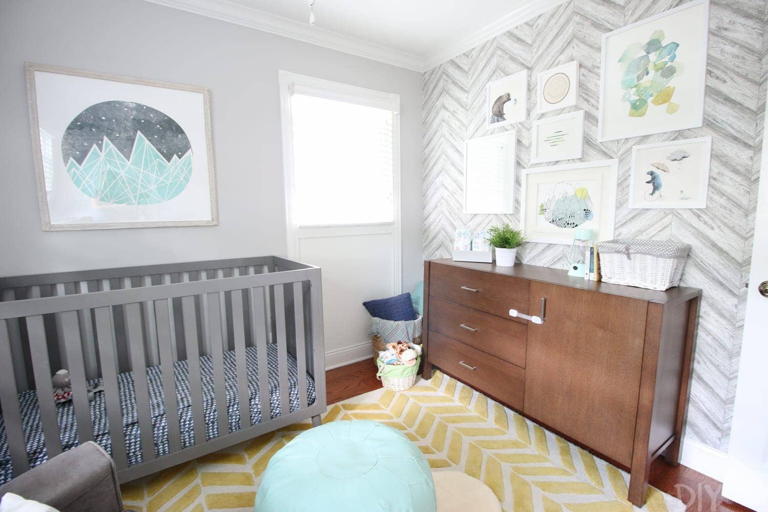 Gender Neutral Nursery Reveal | DIY Playbook