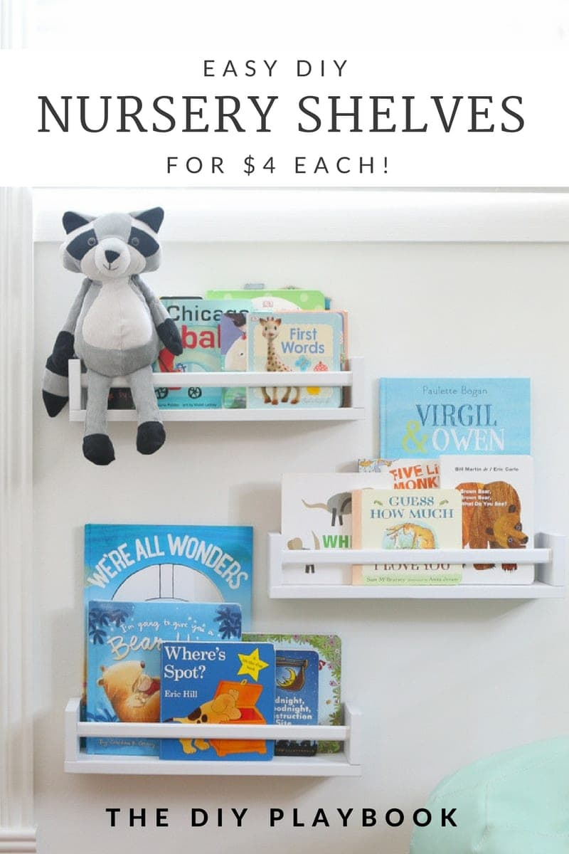 Easy Diy Bookshelves For Under 4 Each Playbook