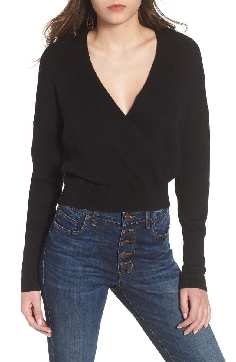 black-sweater