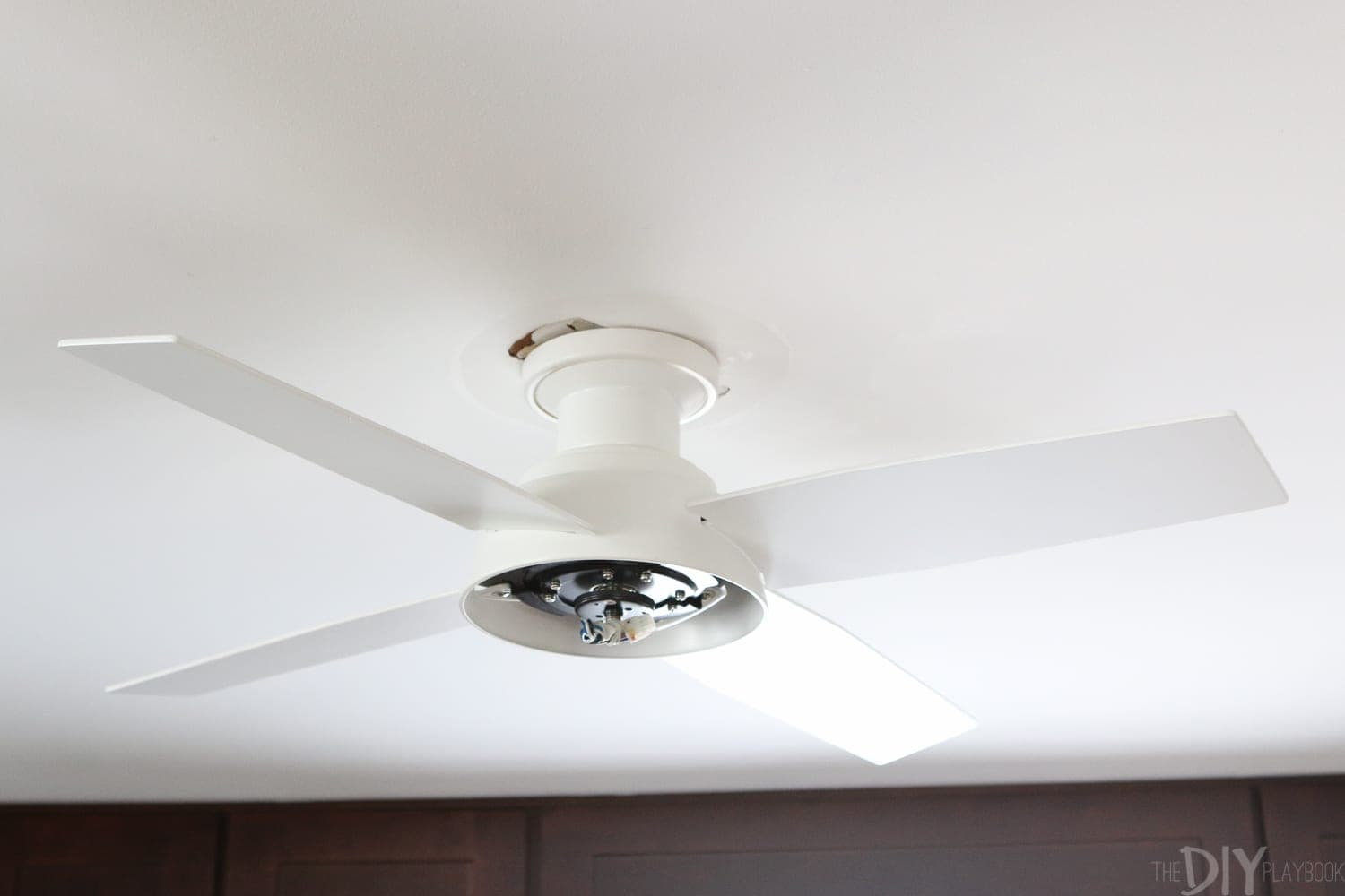 Finding A Perfect And Petite Fan For Bridgets Kitchen Ceiling Wiringceilingfan1jpg How To Install Zillow 18