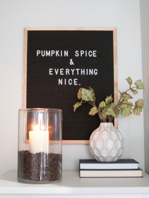 A Neutral, Almost Pumpkin-less Fall Home Tour