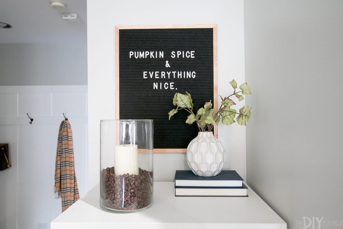 Adding Small Touches Of Fall To Our Home Decor With Michaels