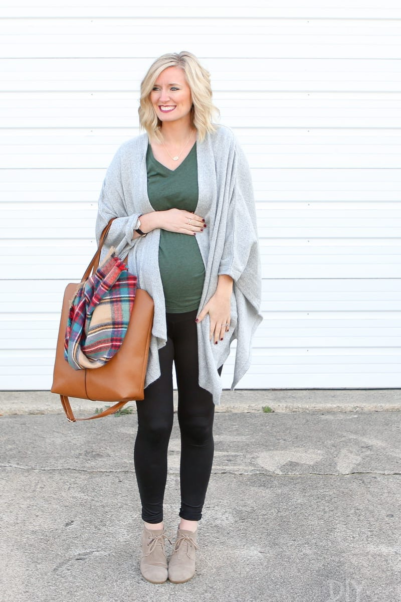 Bridget's Thanksgiving maternity wear