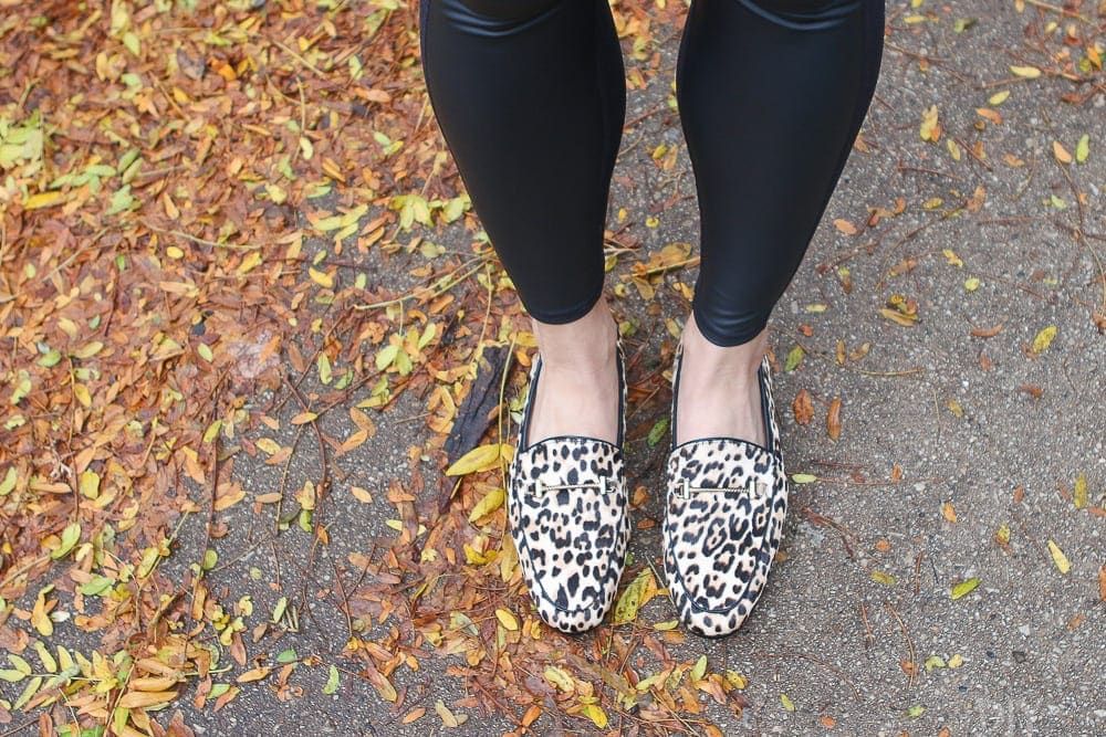 These leopard loafers are amazing