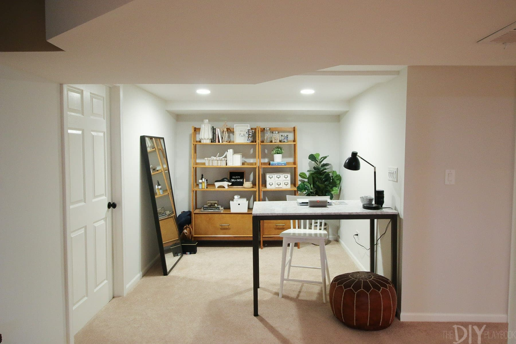 Living in the Basement | DIY Playbook