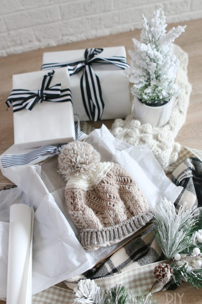 Giving gifts for the holiday season