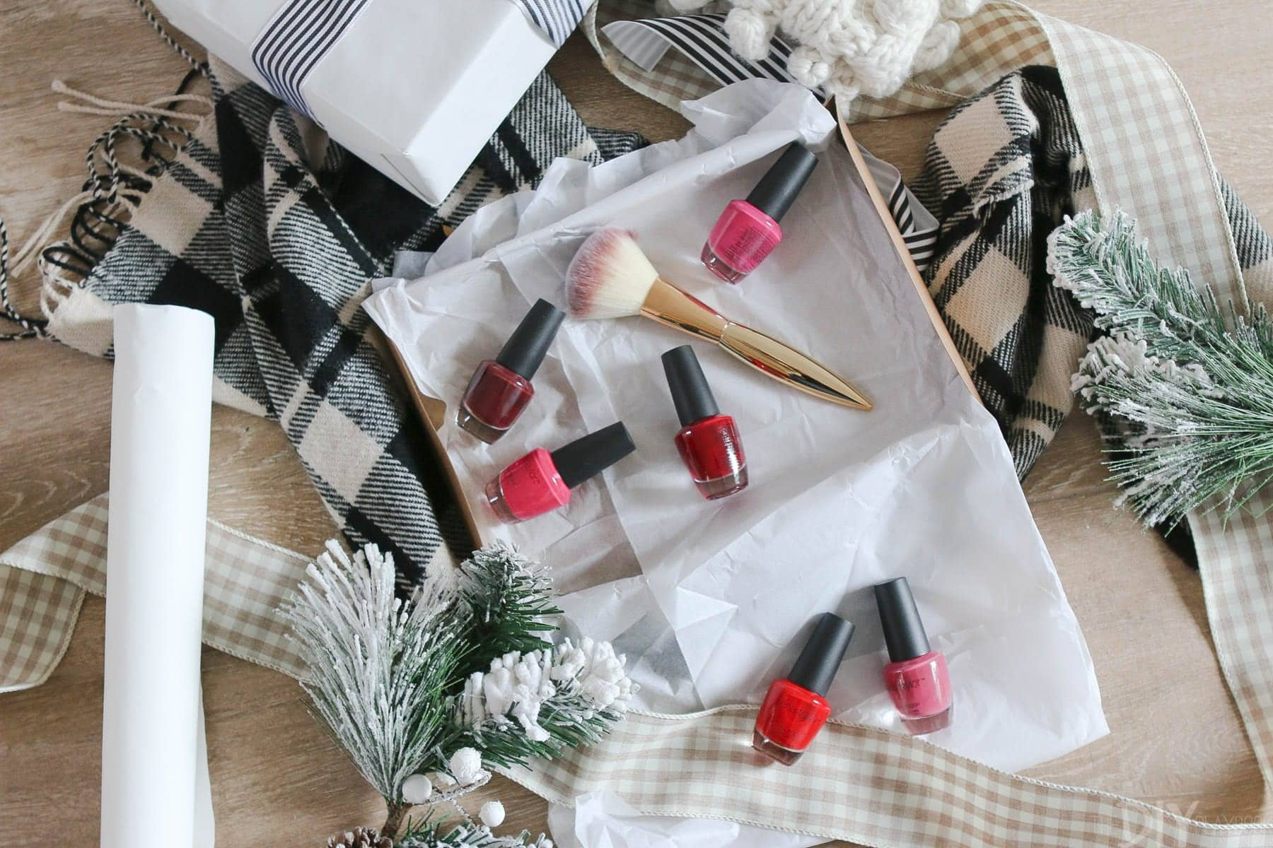 Nail polish packs are perfect for a fashionista in your life. Go with colors - like classic red - that will be in style all year.