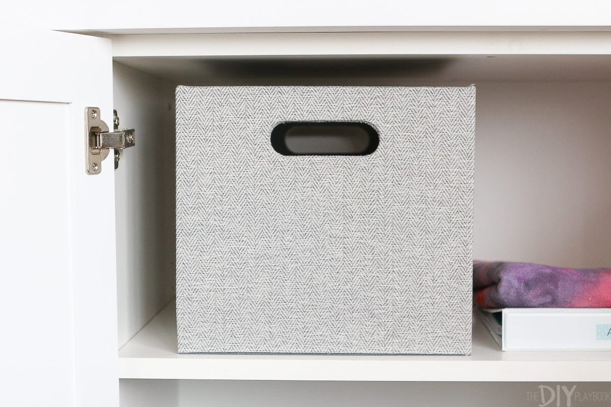 Storing exercise gear