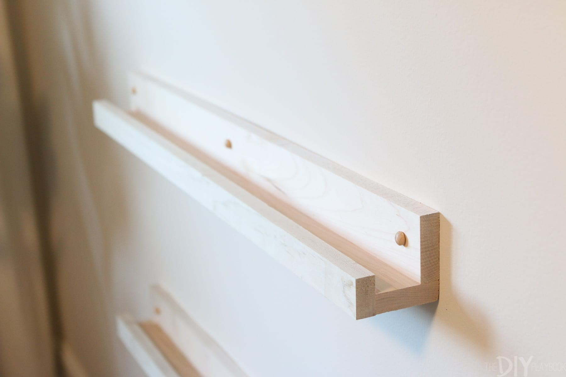 easy tips and tricks for installing DIY book ledges