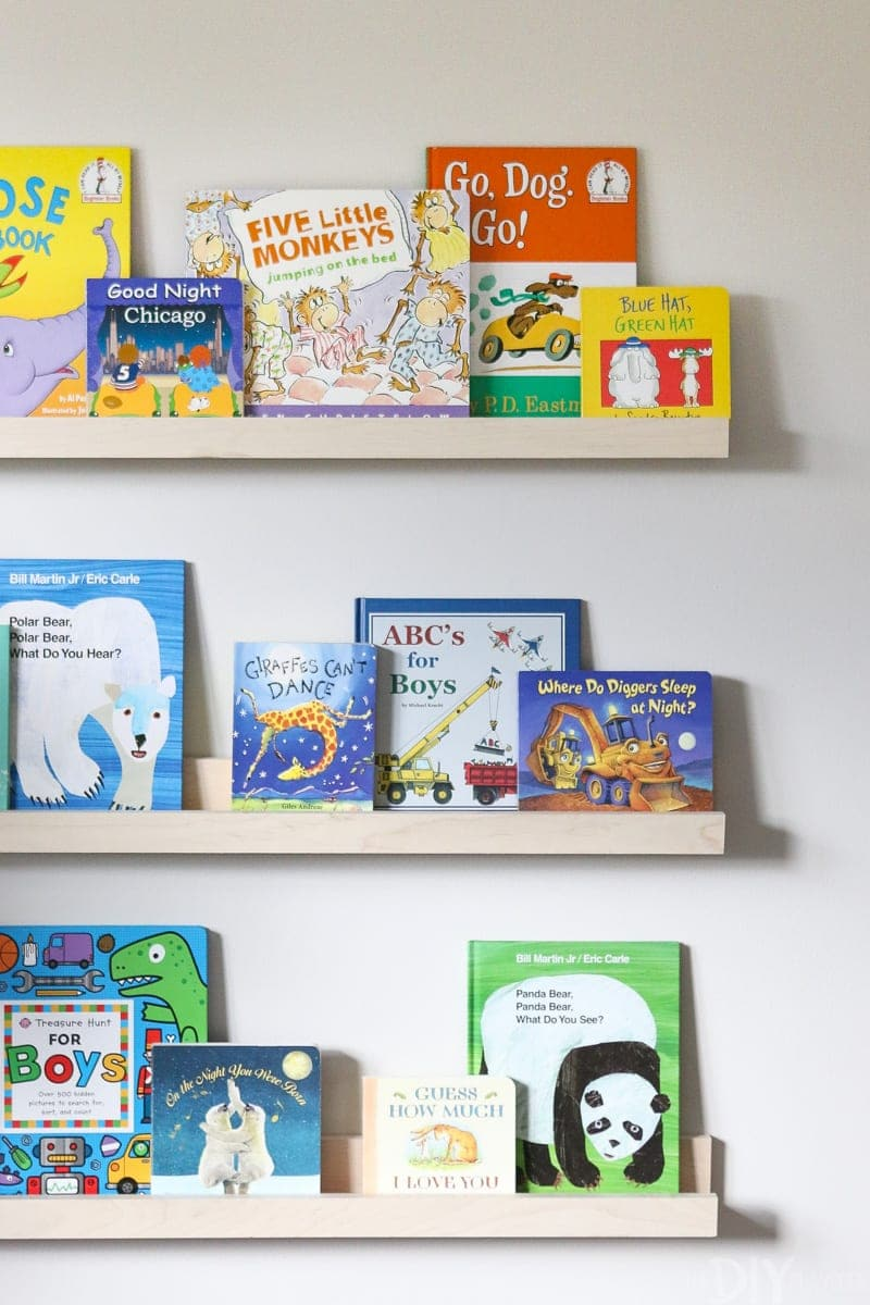 How To Diy Book Ledges For A Nursery The Diy Playbook