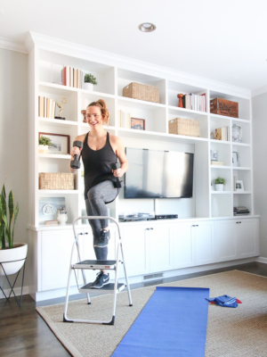 Casey's At-Home Workout Favorites & Storing Exercise Gear