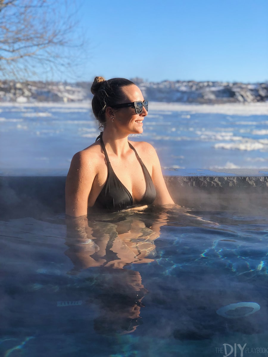 Hot tubs at the Strom Spa