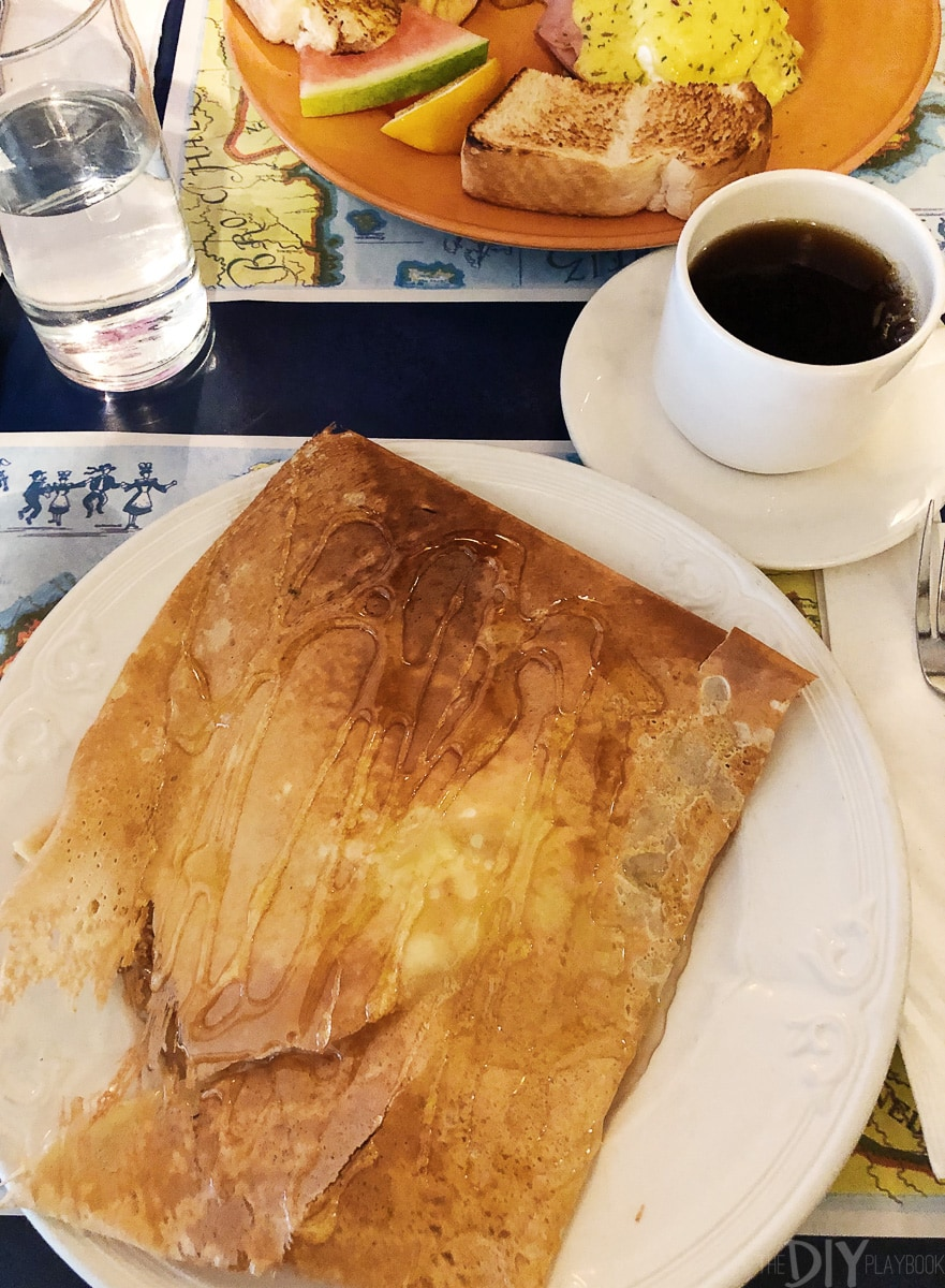 Crepes for breakfast