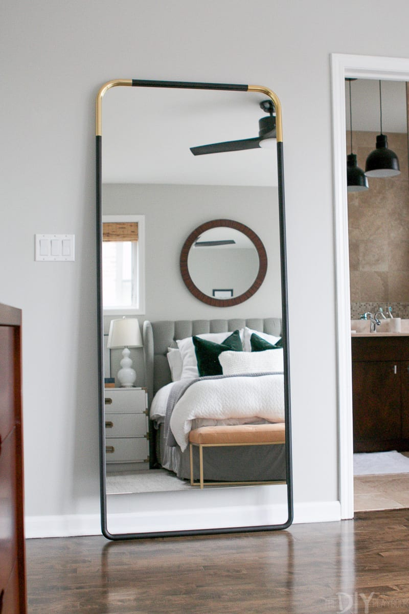 How to Secure a Leaning Mirror to the Wall | The DIY Playbook