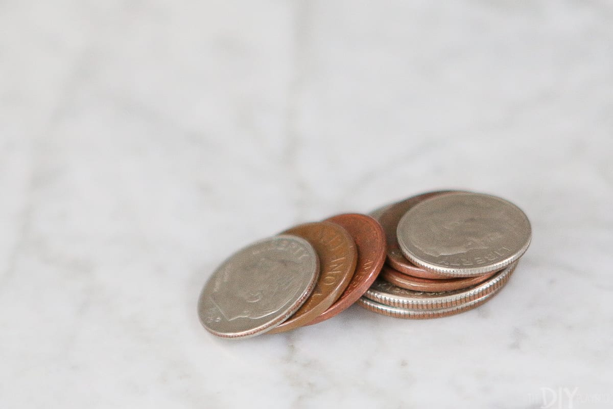 Take your coins and change in to save money during Frugal February
