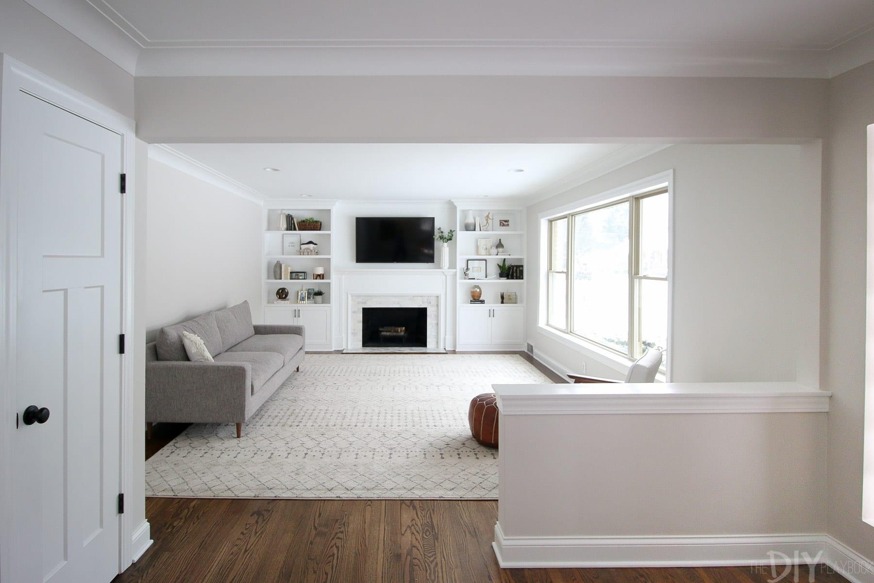 family room rug we love