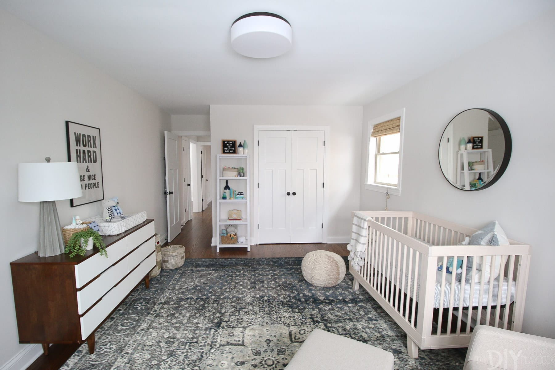 A before and after nursery reveal