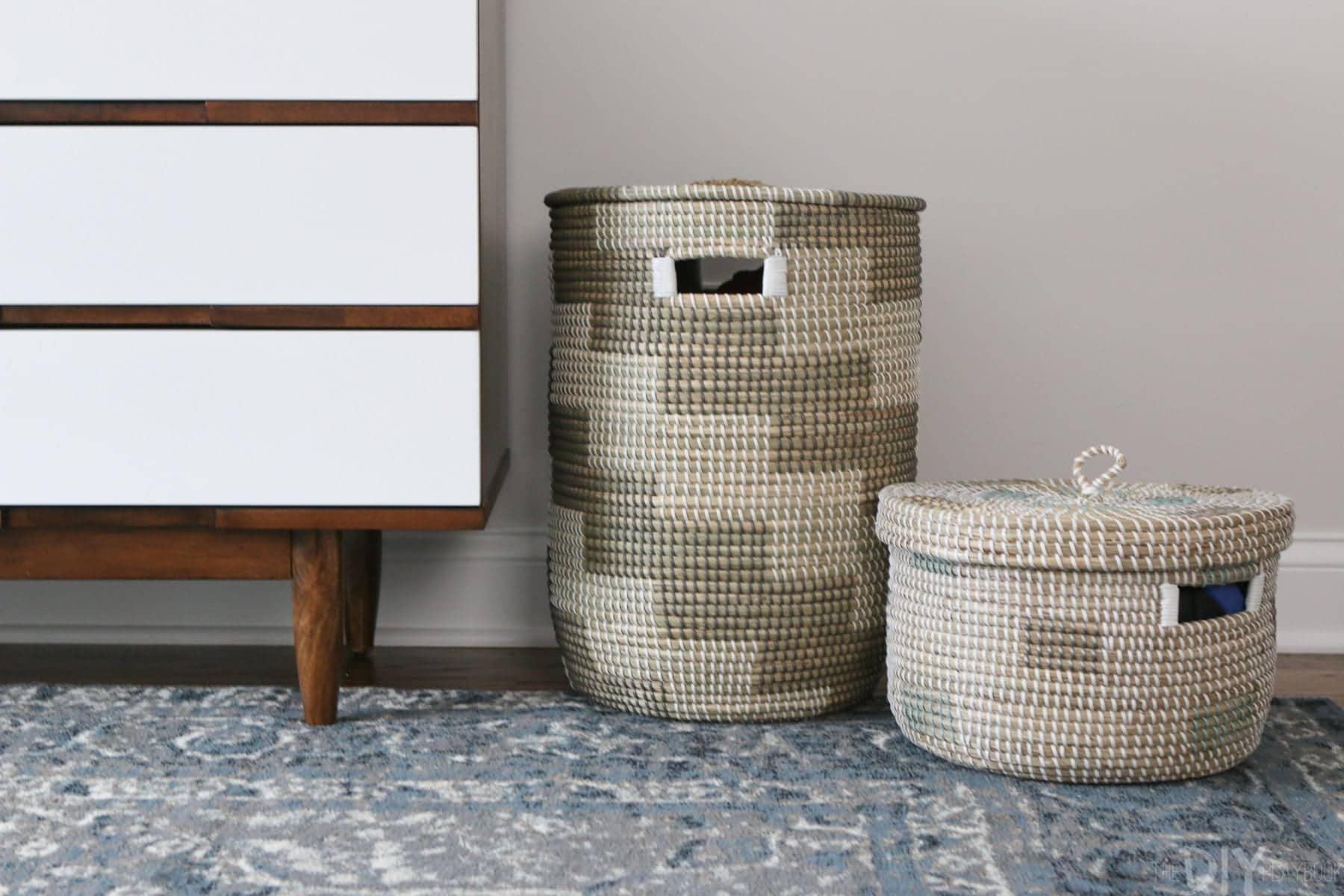 Nursery Baskets to Offer Hidden Storage