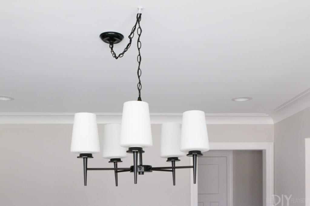 dining room light fixture review after one year