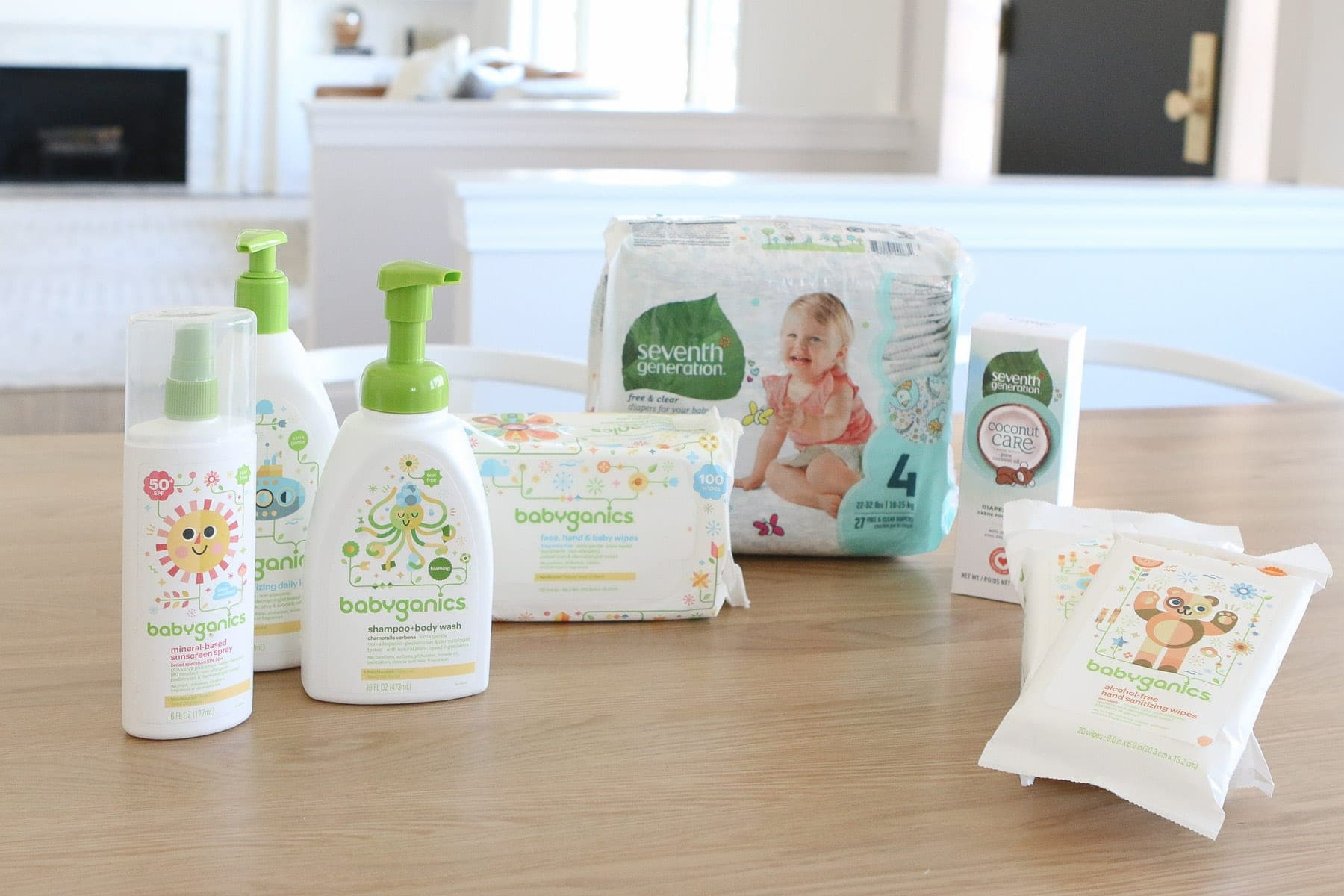 Packing baby organic items in your diaper bag
