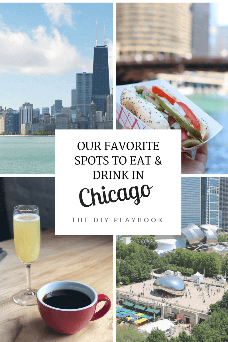 We show you our favorite spots in chicago for food, coffee, and happy hours!