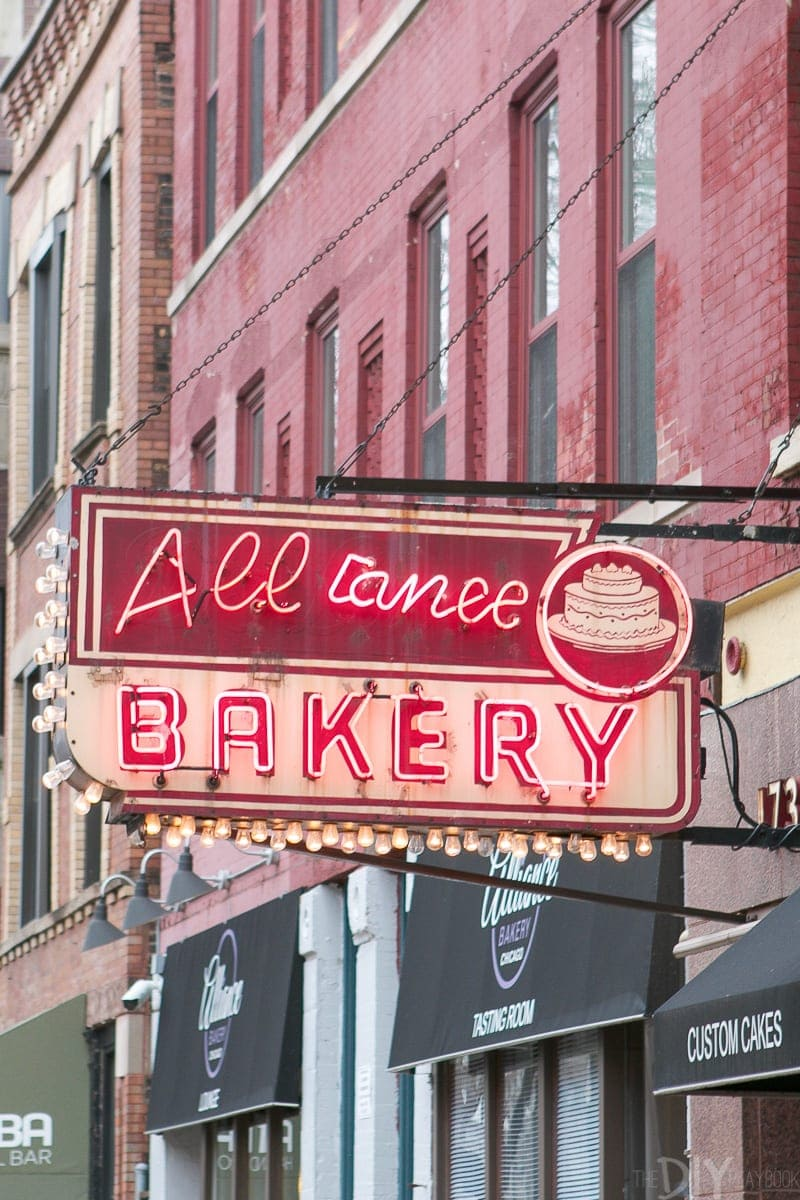 Alliance Bakery on Division Street in Wicker Park has delicious treats and cakes