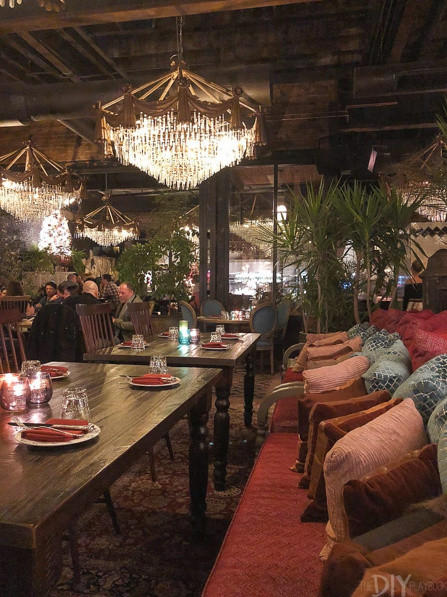 Beatnik chicago is a delicious spot for a cocktail or a yummy moroccan themed meal
