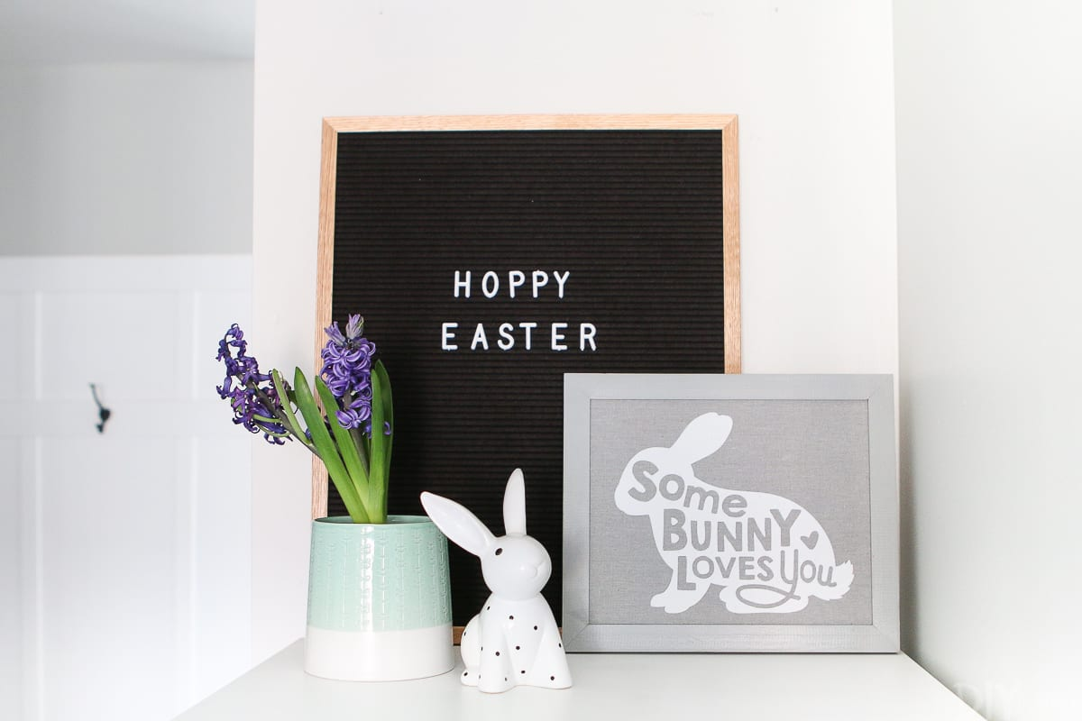 Adding Simple Touches Of Easter Decor To Your Home The Diy Playbook