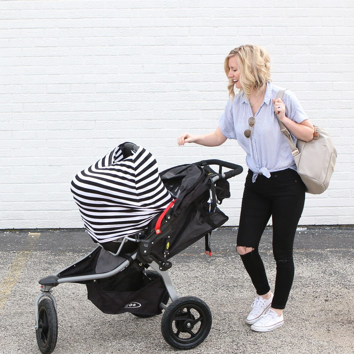 Reviewing the BOB newborn stroller