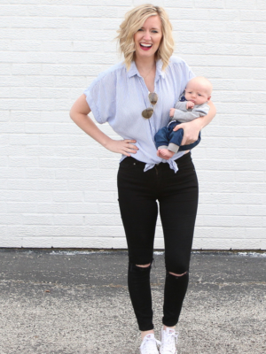 Dressing (& Accepting) My Body After Baby