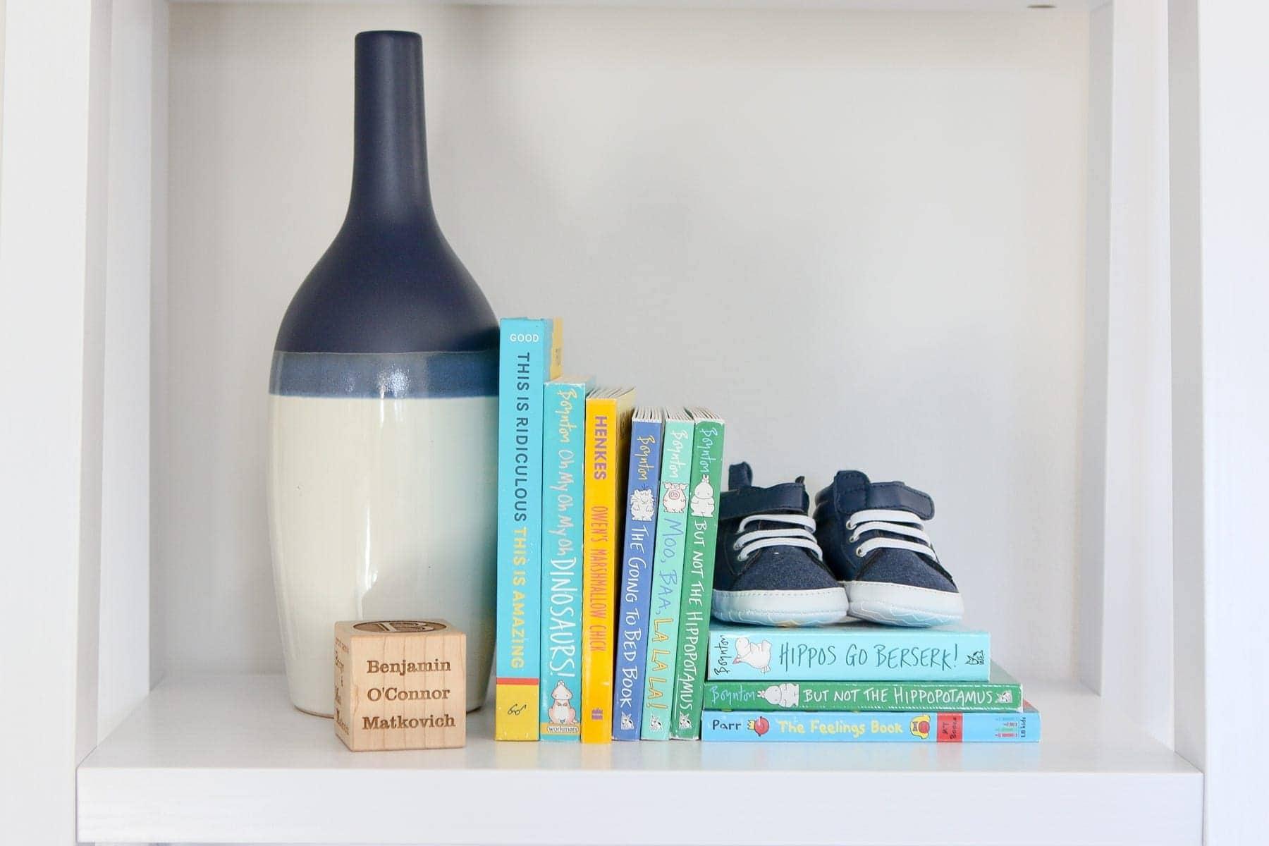 keepsake wood block for a newborn gift