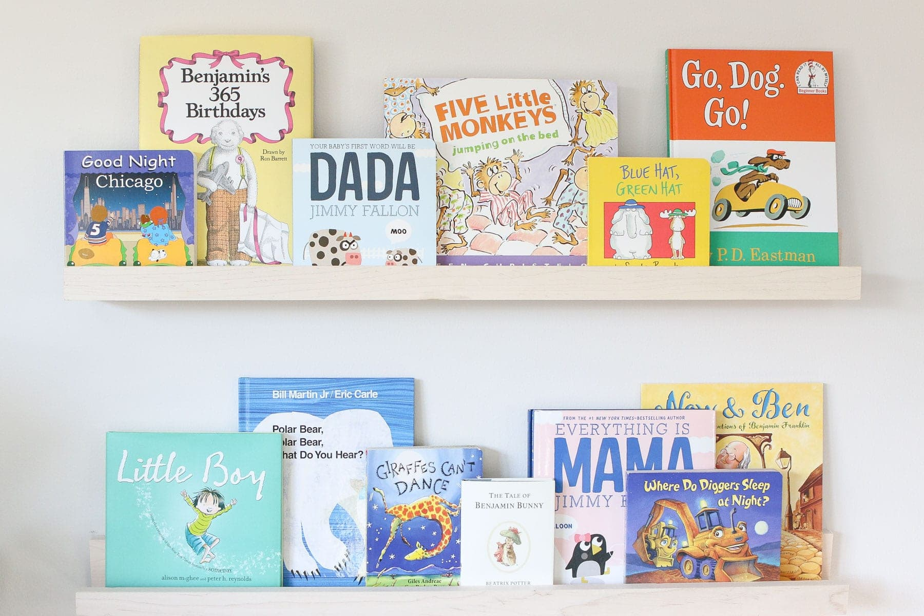 growing a newborn's library