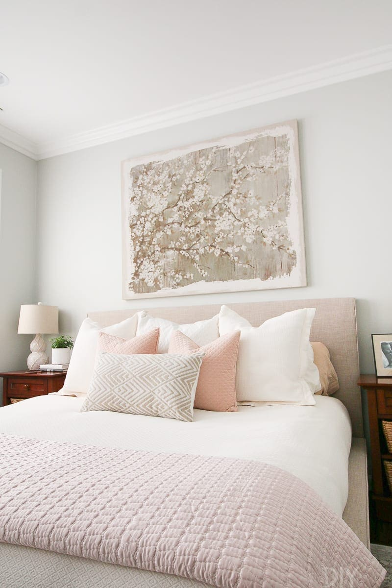 Styling A Blush Bedroom With Feminine Touches The Diy Playbook