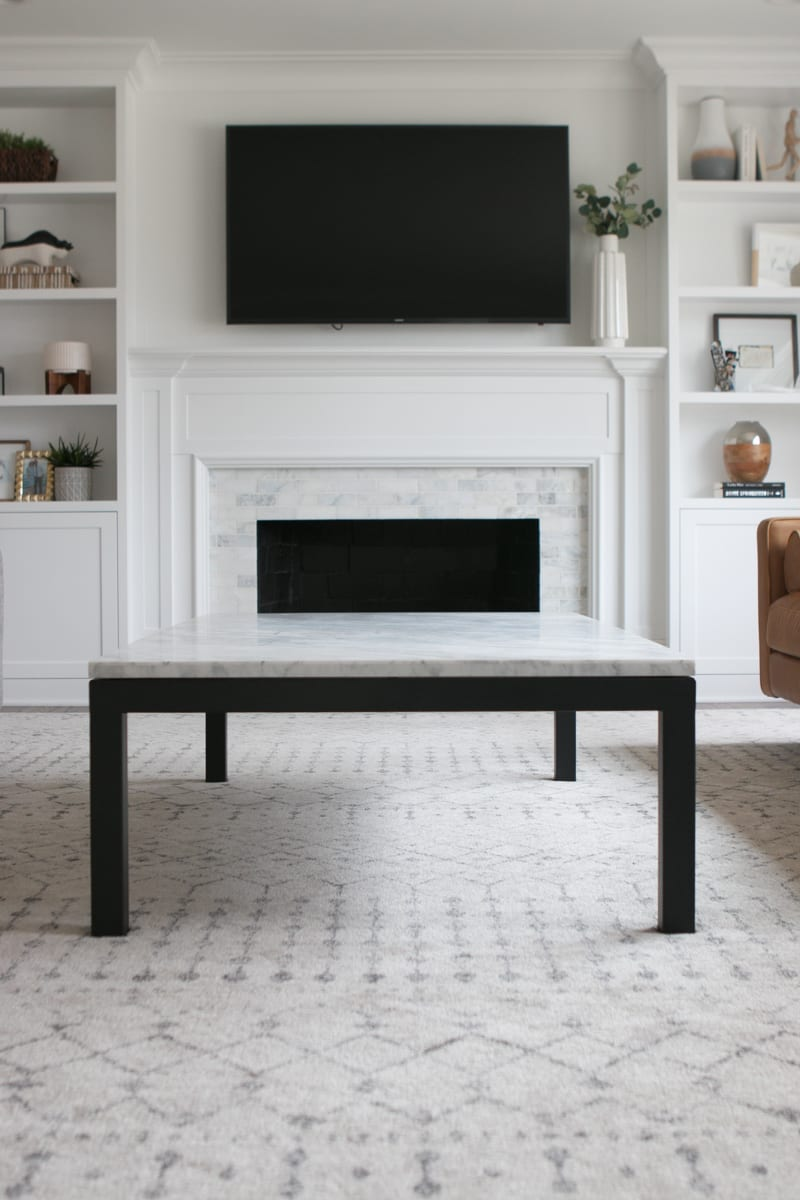 a review of an extra large coffee table