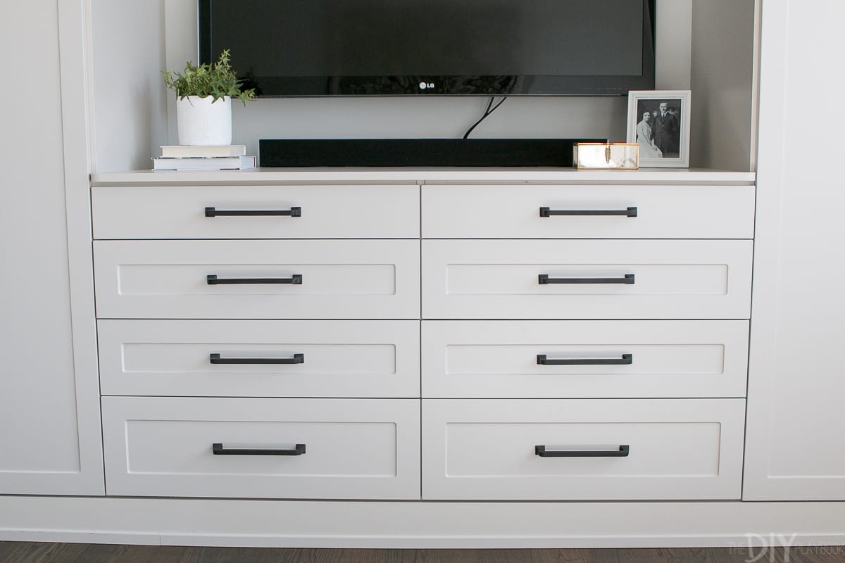 Master Bedroom Built-Ins with Storage | The DIY Playbook