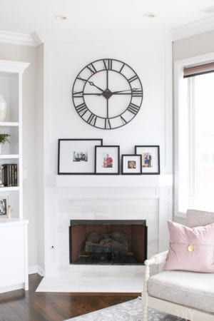 Jan's fireplace makeover