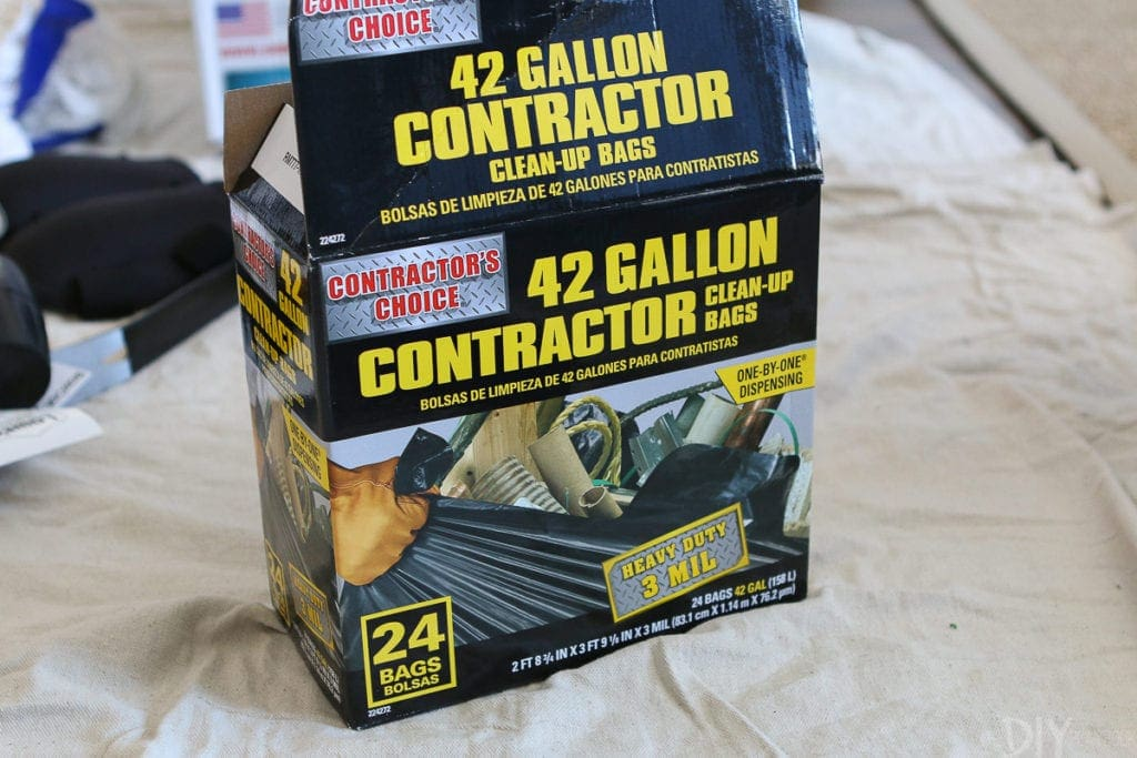42 gallon contractor trash bags