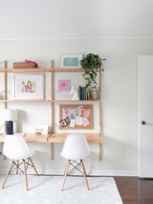 A Light, Bright Kids' Room Makeover