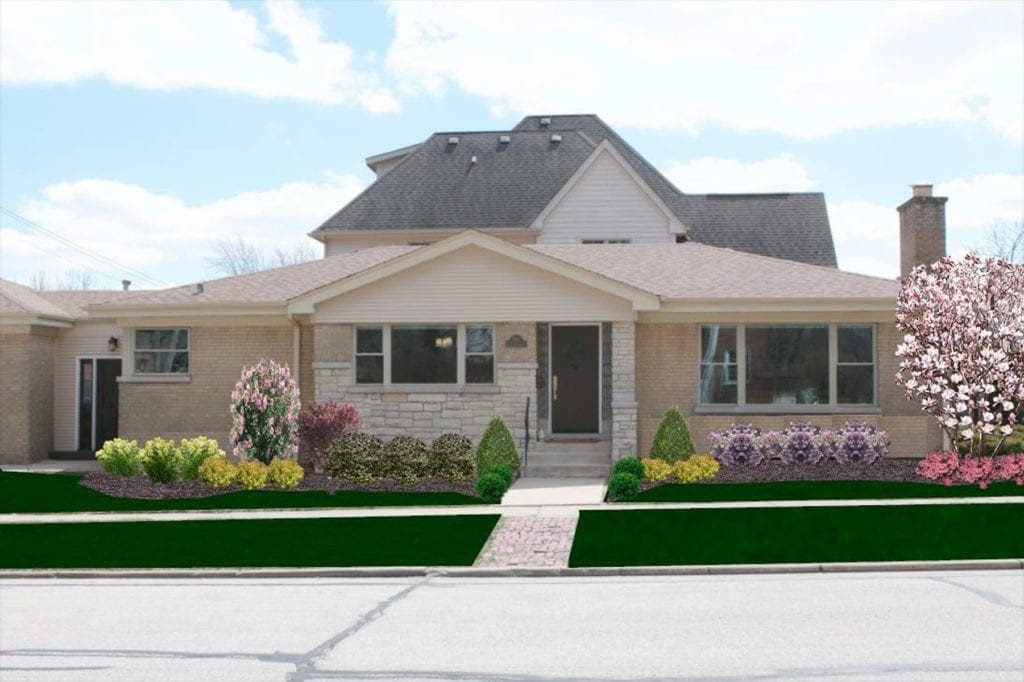rendering landscaping for our outdoor to-do list