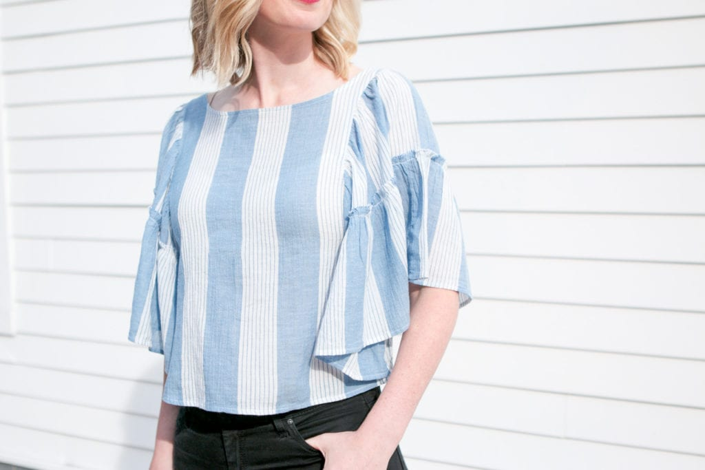 flowy blouse for the summer