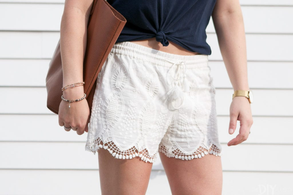 These lace shorts from LOFT are so comfortable