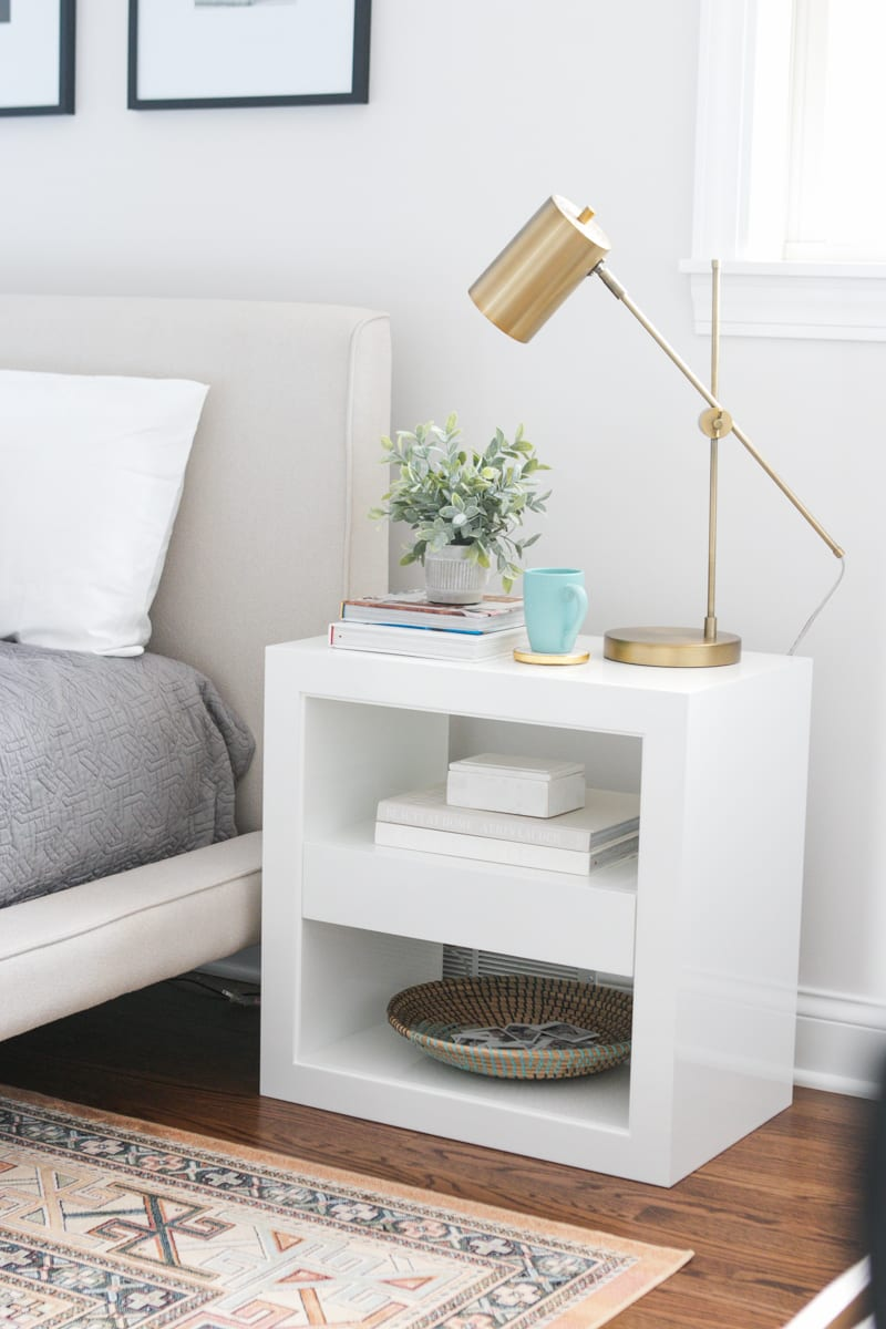 White serena & lily nightstand