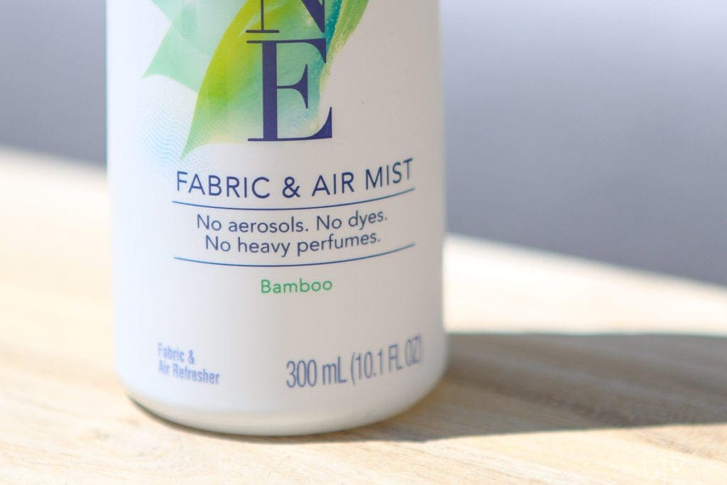 Fabric and air mist by Febreze ONE in the scent bamboo