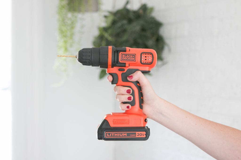 Black and Decker 20v lithium battery drill