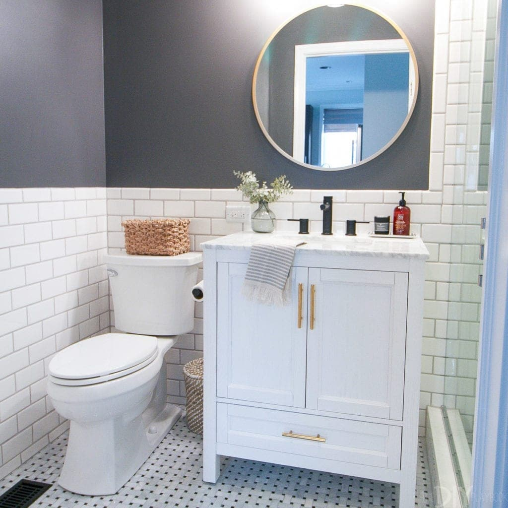 Renovating our bathroom was a big project we crossed off our list