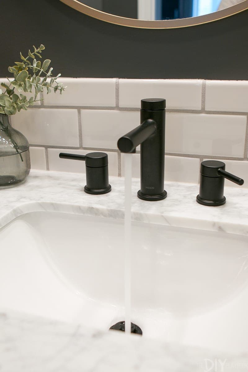 Finding A New Black Bathroom Faucet The Diy Playbook